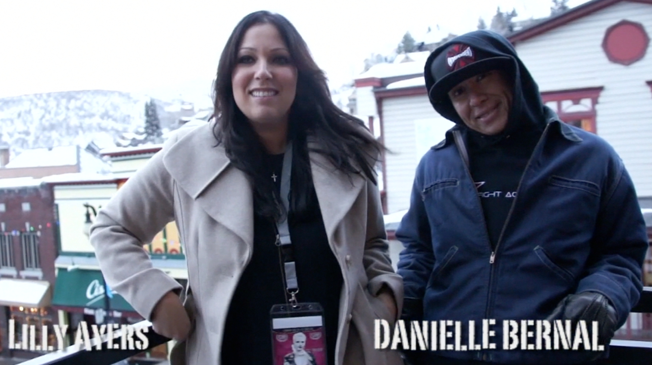 VIDEO PODCAST: Lilly Ayers (director) and Danielle Bernal (associate producer) of Last Fast Ride (USA)