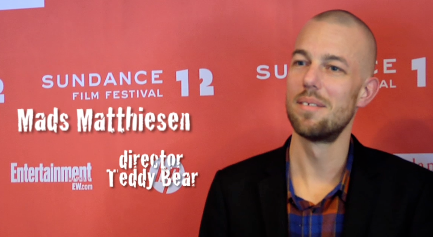 VIDEO PODCAST: Mads Matthiesen (director) of Teddy Bear (DK)